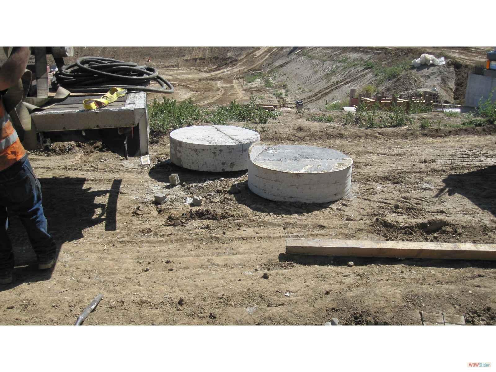Dual 12 x 48 inch Concrete Sugs