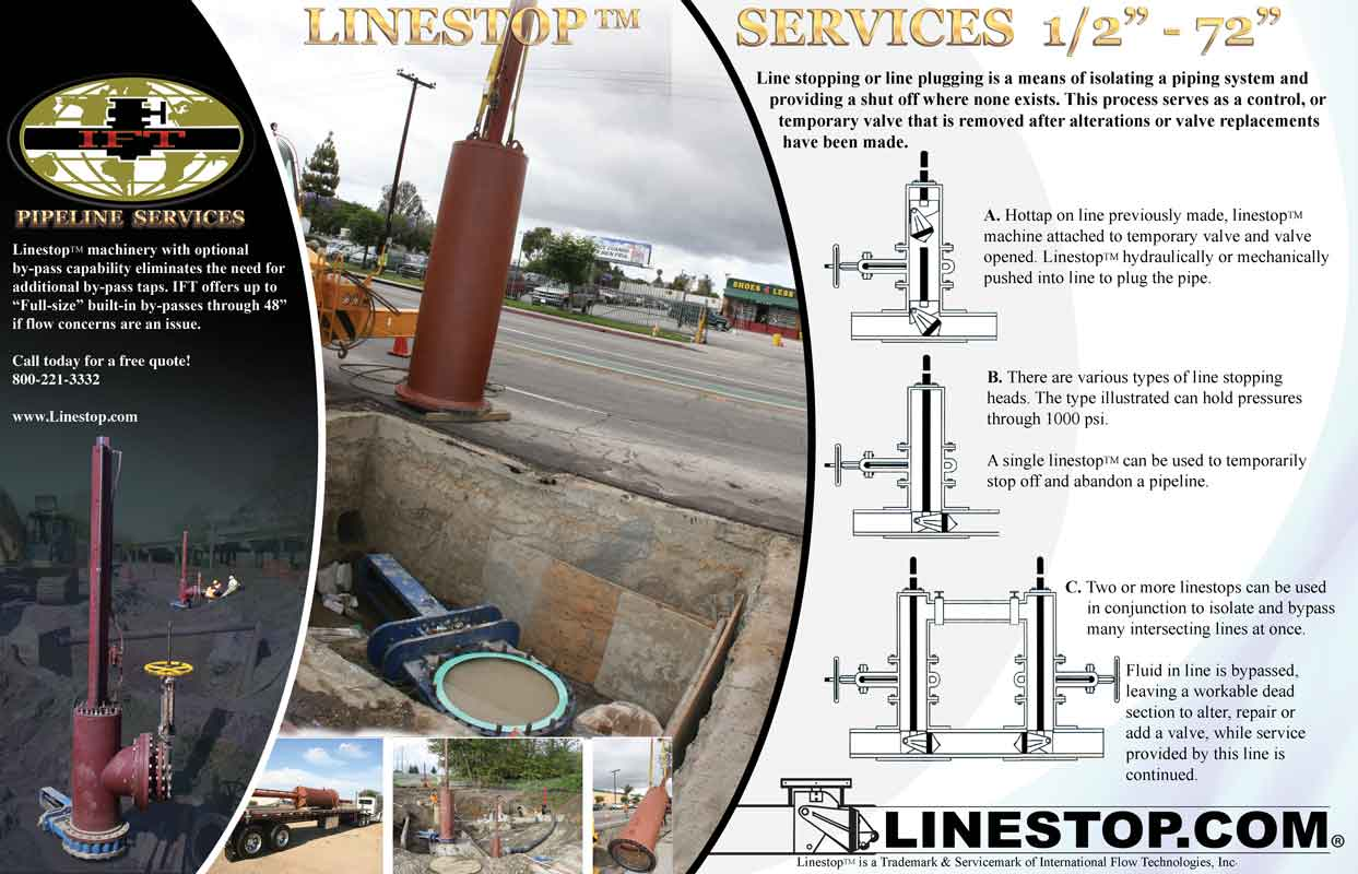 Pipeline Linestop Services Nationwide