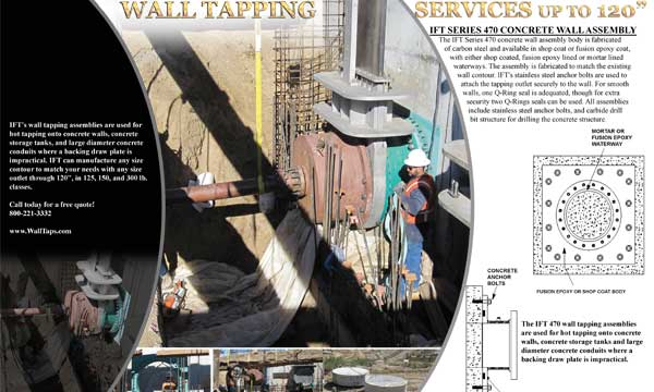 Wall Tank Vessel Hottap Services